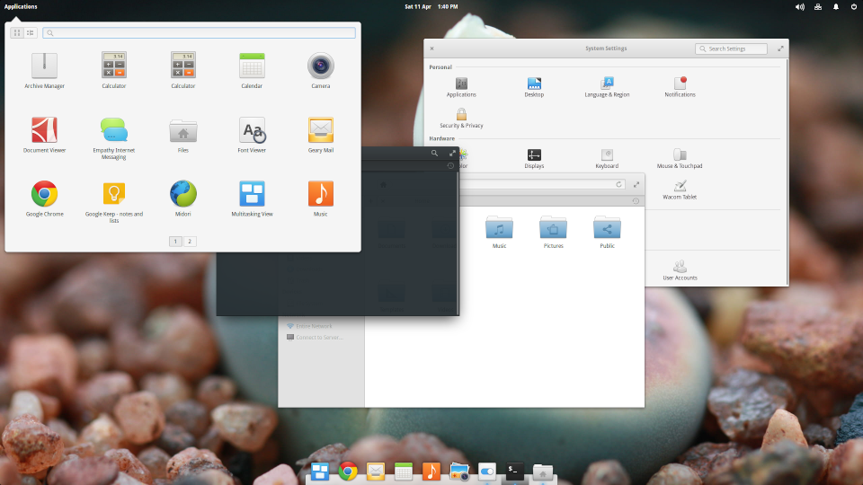 elementary OS Freya Screenshot